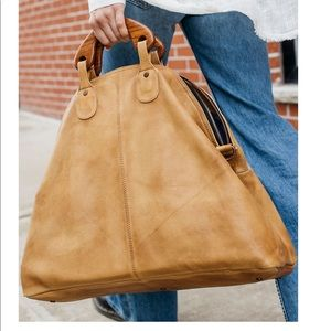 New free people willow vintage tote bag
